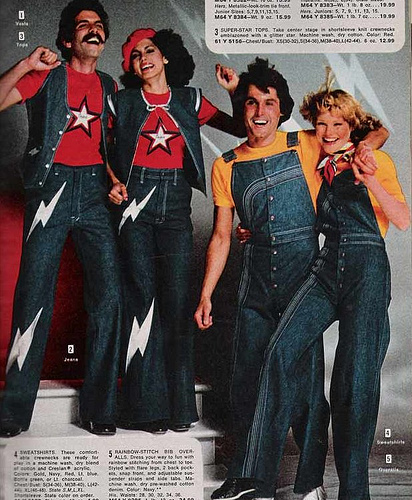 The 1970s. Disco music. Bad fashion. I grew up in this era of fashion.